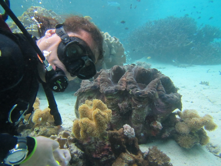 Scuba in the Solomon Islands