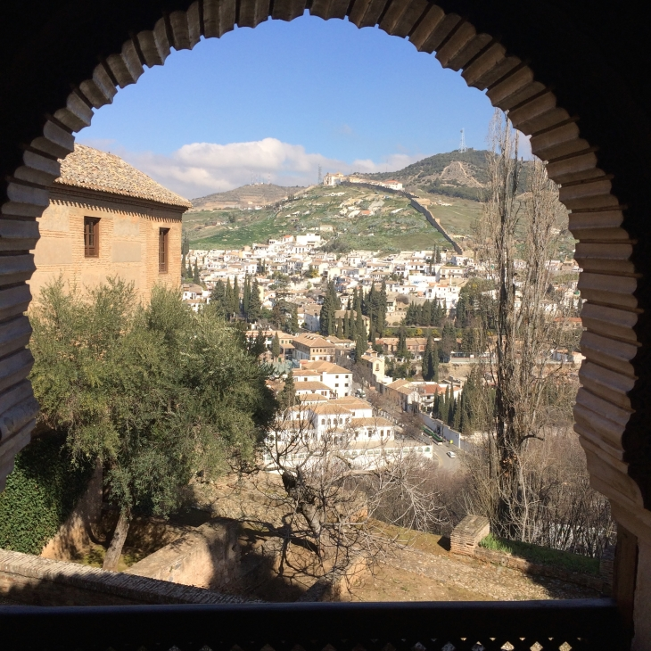 View from the palace over Granada