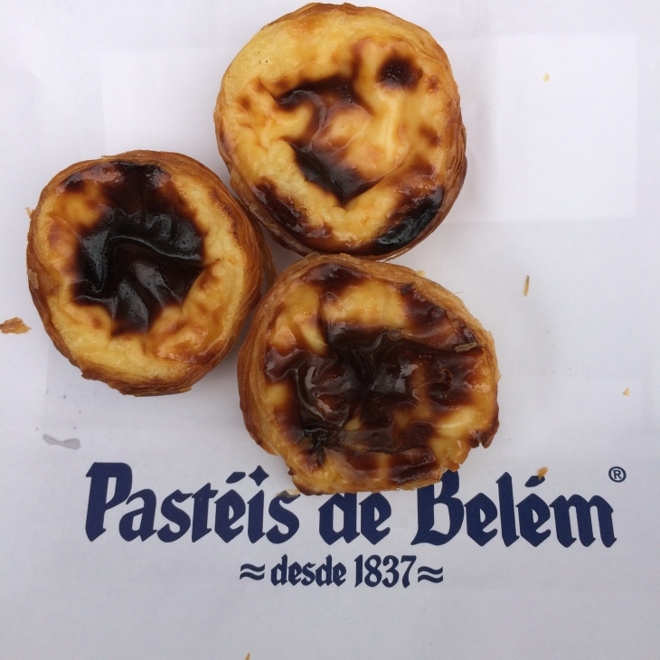The famous Pateis de Belem!